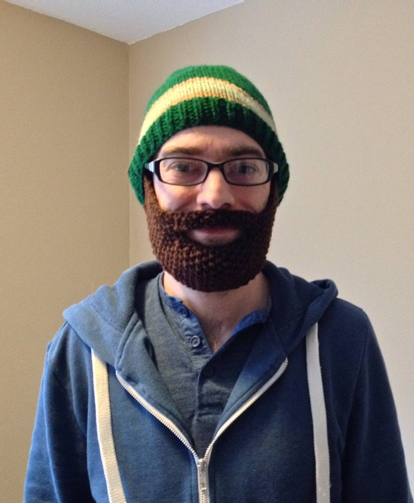 4 Knitted Beard Hat Patterns - The Funky Stitch