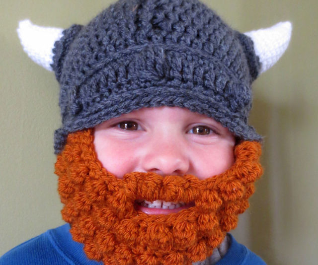 Get 7 Viking Knit Hat Patterns for free. See photos inside ...