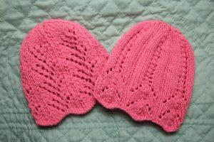 pink knit hats