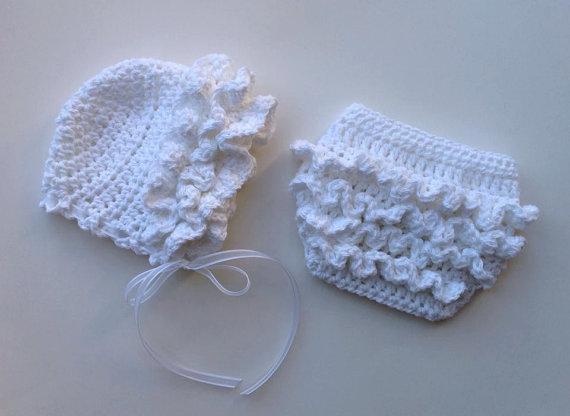 crochet ruffle diaper cover pattern free