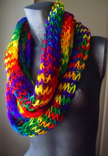 16 Loom Knitting Scarf Patterns The Funky Stitch