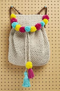 Crochet Miniature Backpack | MARYJ HANDMADE - YouTube | 300x200